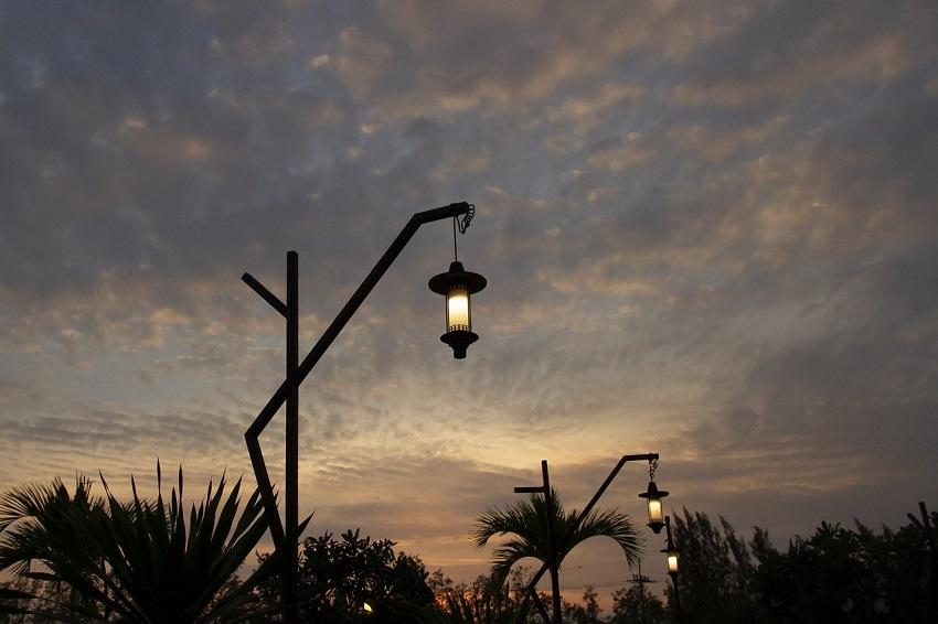Laat de zon jou dag en nacht van licht voorzien