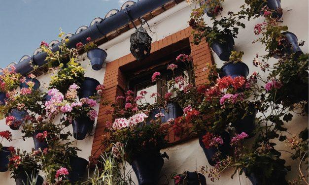 Spaanse sfeer met kenmerkende hangpotten